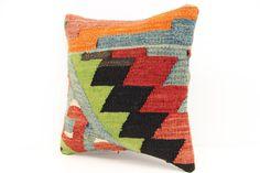 Classy Kilim pillow cover 12 x 12 Oriental by kilimwarehouse