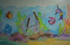 mar 20 Mural marino para habitación de niño