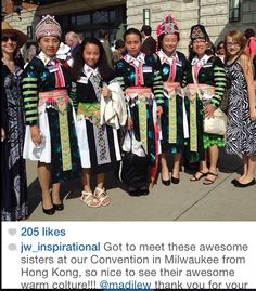 Sisters from HONG KONG at the 2014 convention in MILWAUKEE, WI.