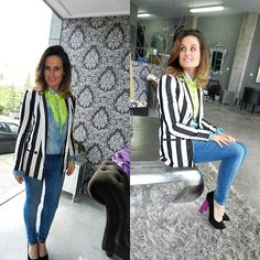 Stripes. (by Tu Personal Shopper By Marta Antolinez) http://lookbook.nu/look/4706935-Stripes