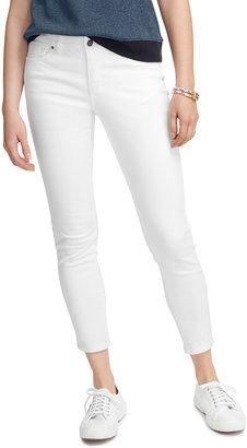 L.L. Bean Women's Signature Skinny Ankle Jeans, Favorite Fit