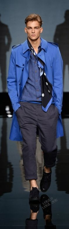 Ermanno Scervino Spring 2015 Menswear | Men's Fashion | Men's Outfits | Moda Masculina | Shop at designerclothingfans.com