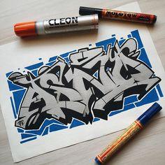 asno. #projectburnerz #sketchbook #graffiti #illustration #stylewriting #molotowone4all #cleoncoltd #silver #urbanart #kunst