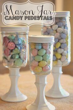 Candy Pedestals