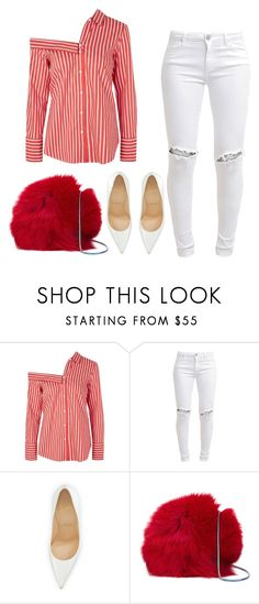 """Untitled #693"" by bombfashiondreamer on Polyvore featuring Topshop, FiveUnits, Christian Louboutin and Diane Von Furstenberg"