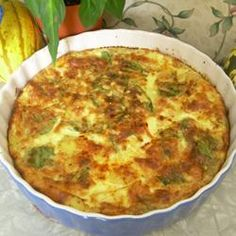 Does anyone have any other BASIC quiche recipes....without the half and half added?