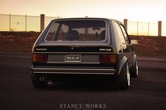 I would love to get my hands on one of these...VW Golf MK1.