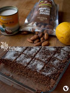 Čokoládový perník (s kokosovým mlékem)