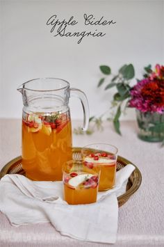 Entertaining: Apple Cider Sangria - Style Within Reach