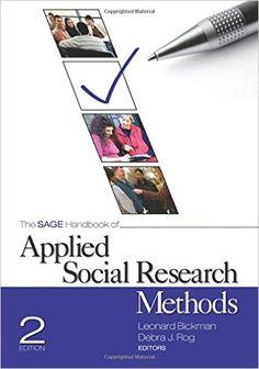 #newbook: The SAGE Handbook of Applied Social Research Methods./ Leonard Bickman, Debra J. Rog.  http://solo.bodleian.ox.ac.uk/OXVU1:oxfaleph020538107
