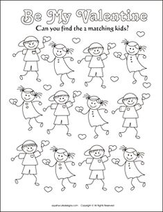 Free Valentine coloring pages - Valentine\'s Day coloring sheets ...