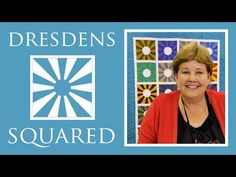 Dresdens Squared Quilt: Easy Quilting Project with Jenny Doan of Missouri Star Quilt Co Quilting Tips, Quilting Tutorials, Quilting Projects, Msqc Tutorials, Easy A, Dresden Plate Quilts, Star Quilts, Quilt Blocks, Puzzle Quilt