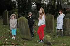 Most parents like to boast about their children's talents, but you might think Pam Billington would keep her family's special abilities to herself.  The 38-year-old is convinced her two youngest Jadon 10, and Lucy, eight, can talk to dead people.  Mrs Billington, from Cheshire, says they have made friends with more than ten spirits - including their own grandmother - in the past year.