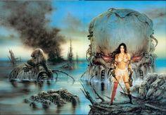 III Millenium (Third Millenium) - Luis Royo Fantasy