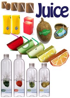 Innovative Juice Container Packaging Design