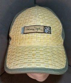 26-Panama-Jack-Baseball-cap-straw-weave-mesh-Velcro-adjustment. mary  albright · summer caps 14bfee38dcc8
