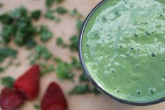 The Perfect Green Smoothie Recipe