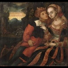 CRANACH DIGITAL ARCHIVE  The elusive Striped Cranach - done by a follower of Cranach the Elder