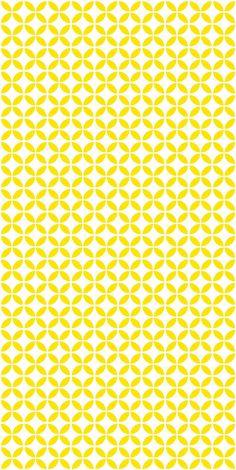 Vinyl wallpaper. Self-adhesive yellow GEFEN by Yaelyaniv on Etsy
