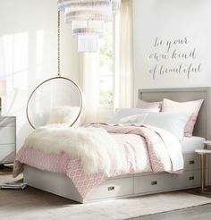 Teen girl bedrooms, jump to this reference for a complete superb teen girl room makeover, make-over number 3958521679 Cute Teen Bedrooms, Teenage Girl Bedroom Designs, Girls Room Design, Kid Bedrooms, Pb Teen Rooms, Colorful Teen Bedrooms, Design Bedroom, Vintage Teen Bedrooms, Bed Rooms