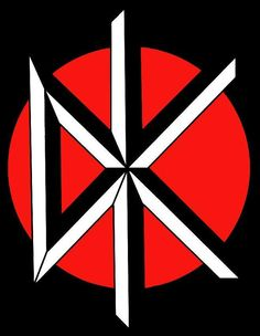 """Dead Kennedys logo designer Winston Smith recalls, """"I created that after I'd met ( Jello ) Biafra in either late 1979 or very early . Punk Art, Arte Punk, Rockband Logos, Punk Rock, Band Logo Design, Metal Band Logos, Metal Font, Rock Y Metal, Dead Kennedys"""
