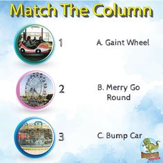 Every ride is a fun ride at Jurasik Park Inn Can you match their rides with their right names? Post your answers in the comments session and let us know much you have loved our park Call now at 8882388843 Best Amusement Parks, Amusement Park Rides, The Final Destination, Family Holiday Destinations, Green Environment, Picnic Spot, Train Rides, Roller Coaster, Kids Decor
