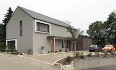 einfamilienhaus modern mit satteldach