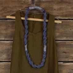 macrame necklace <3 by La-La