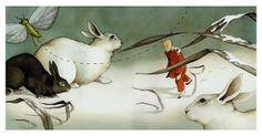 "Germano Ovani illustration for ""The Dandelion Sword""."