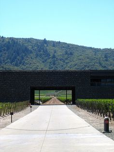 Dominus Winery by Herzog & De Meuron - Napa Valley California 1998