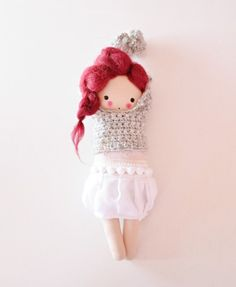 Tysia - lalka przytulanka w Lady Stump - oryginalne zabawki handmade na DaWanda.com
