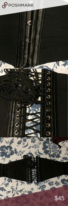 """Waist cincher corset 36"""" - 38"""" black waist cincher corset Tops"""