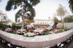 Elegant Outdoor Ceremony in Santa Barbara on Borrowed & Blue.  Photo Credit: bycherry photography