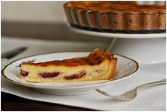 Švestkový koláč s vanilkovým krémem French Toast, Pie, Baking, Breakfast, Food, Torte, Morning Coffee, Cake, Fruit Cakes