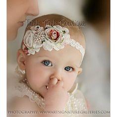 Baby Headband, flower headband,baby headbands,newborn headba ...