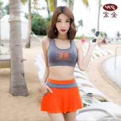 27.00$  Buy here - https://alitems.com/g/1e8d114494b01f4c715516525dc3e8/?i=5&ulp=https%3A%2F%2Fwww.aliexpress.com%2Fitem%2FNew-JB-professional-female-sports-swimsuit-solid-color-cute-little-fresh-students-skirt-style-boxer-two%2F32774926055.html - New JB professional female sports swimsuit solid color cute little fresh students skirt - style boxer two pieces split swimwear 27.00$