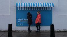 Publicidad de IBM y mobiliario urbano – Ideas e Inventos