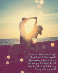 ~Lady Antebellum :) I love this song, it's beautiful!!!