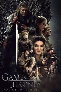 Game of Thrones Season 1 poster by JaiMcFerran.deviantart.com on @deviantART