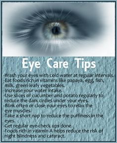 Eye Care Tips that really works. Dallaseyes.com