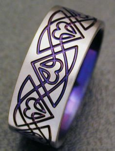 Handfasting Rings | Scottish bride will usually wear a traditional white or cream ...