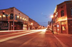 Way Down South in Dixie: Downtown Jonesboro Arkansas at Dusk #Maëlle #YouDeserveMaëlle #JoinMaëlle www.DebbieKrug.mobi