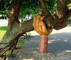 I love tree...i love art!