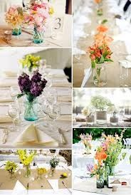 mason jar wedding table centerpieces - Google Search