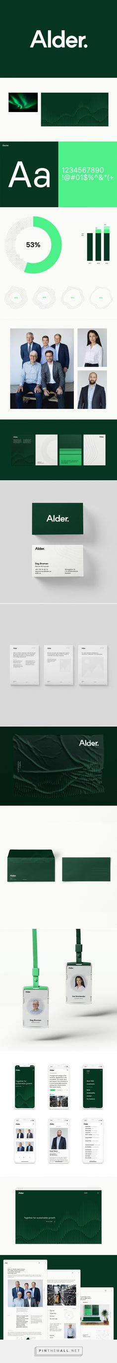 Alder – Brand Identity on Behance - Aleksander Jezierski Brand Identity Design, Corporate Design, Brand Design, Vertical Bike, Bike Rack, Logo Design Template, Design Web, Grafik Design, Lettering Design