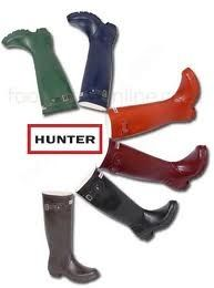Hunter boots . . . WANT!!!