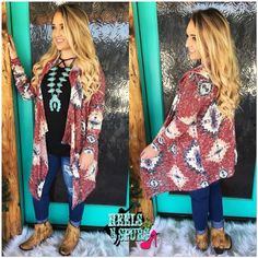 Southern Aztec Hooded Cardigan