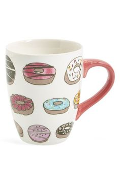 PJ Salvage 'Donuts' Ceramic Mug available at #Nordstrom