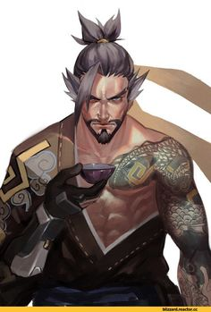Hanzo,Overwatch,Blizzard,Blizzard Entertainment,фэндомы,Overwatch art