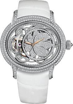 WEB LUXO - Alta Relojoaria: Audemars Piguet lança relógio feminino inspirado na beleza da flor